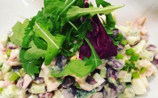 Bean-Ham Salad